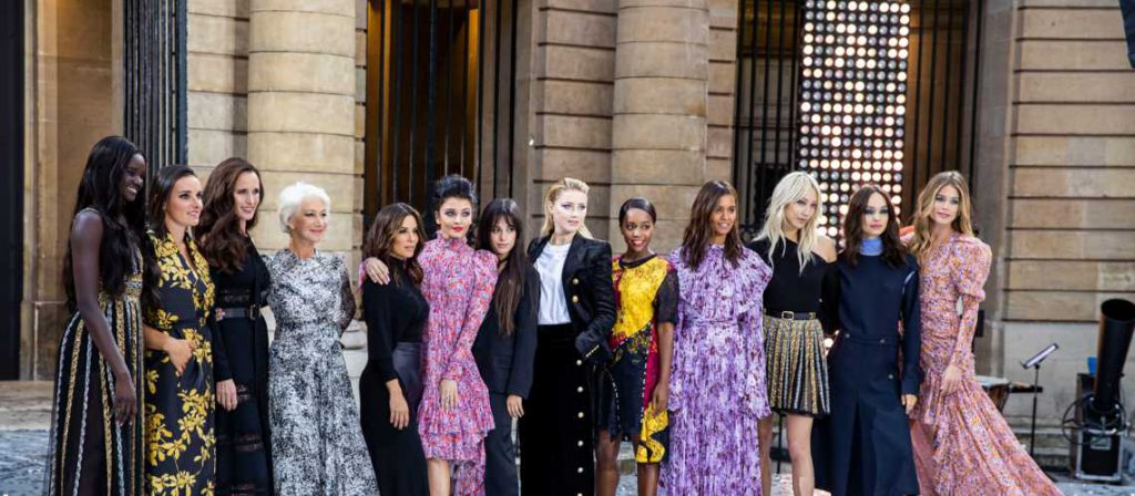photo défilé l'Oréal Paris Fashion Week Paris 20